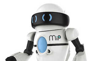The WowWee MiP Robot Offers a Helpful Hand