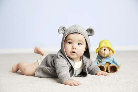 Cartoon Bear Baby Wear - The Paddington Bear for babyGap Collection is Unbearably Cute