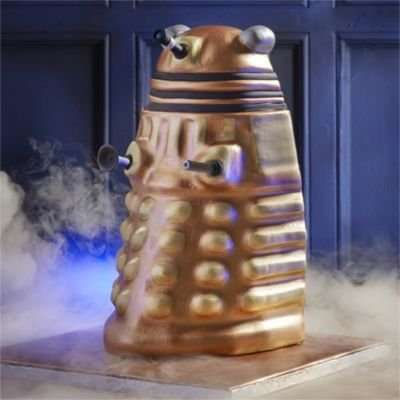 Alien-Shaped Cake Molds - This Dalek Cake Mold Will Make You Want to Exterminate Lesser Pastries