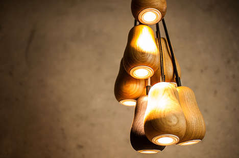 Dangling Eco-Friendly Fixtures - The Babula is a Modern Light Design Created by Krools