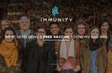 Crowdfunded Virus Vaccines - The Immunity Project is Raising Funds for a Free HIV Vaccine