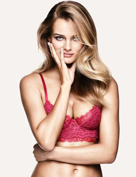 Romance-Inducing Lingerie Ads - The H&M Valentine