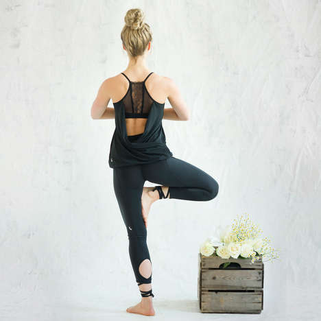 Luxe Natural Yoga Wear - The White by Lolë Line is Elegant and High-Performance