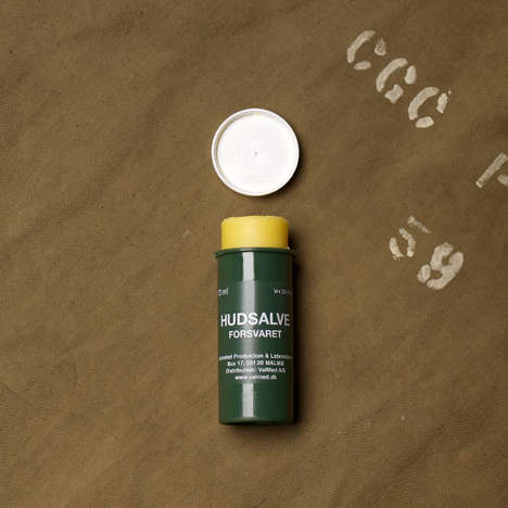 Army-Issued Winter Balms - The Hudsalve Boasts a Mythical Moisturizing Status