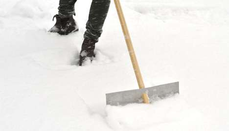 Simplified Winter Instruments - The Firn Snow Shovel is Reduced in Parts to Celebrate Simplicity