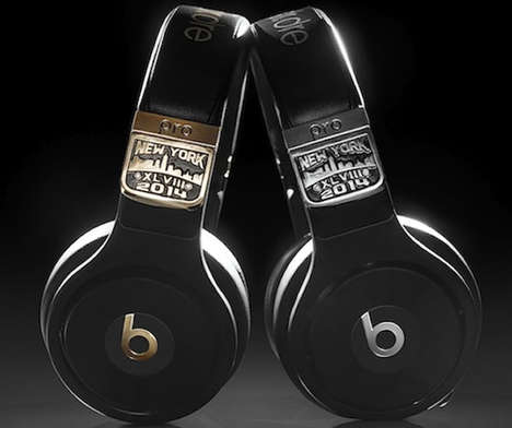 $25,000 Game Day Headphones - The Super Bowl Beats by Dr. Dre are Stadium Bound