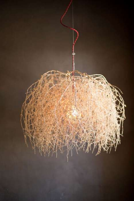 Rugged Tumbleweed Lights - These Distinctive Lights Bring the Wild West to Your Home