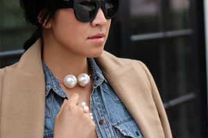 This Pearl Choker DIY Makes Accessory Shopping Easier