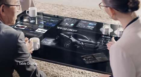 Display-Centric Worlds - The Samsung Smart Display Concept Creates a World at Our Fingertips