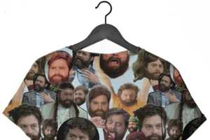 Any Zach Galifianakis Fan Would Love This Tee From Clashist