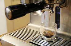 Cafe-Quality Coffee Machines - The Breville Espresso Machine Boasts Dual Boiler for Quality Brews