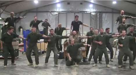 Marine Musical Revamps - These Bored Swedish Marines Comically Reenact Grease Lightening