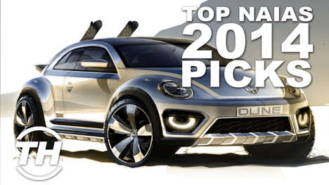 Revolutionary Automobile Apperances - Shelby Walsh Walks Us Through Her NAIAS 2014 Top Picks
