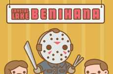 Adorable Horror Movie Icons - These Bone-Chilling Baddies Get a Cute Makeover