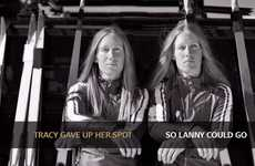 Impassioned Family Olympic Ads - The Barnes Twins Appear in an Inspiring Olympic Guinness Ad