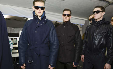 Luxe Work-Suit Menswear - The Louis Vuitton Fall 2014 Collection is Ready for Cooler Climates