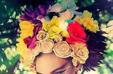 16 Fantastic Floral Headdress Styles