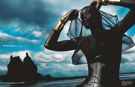 Dramatic Glamazon Editorials - The Numero
