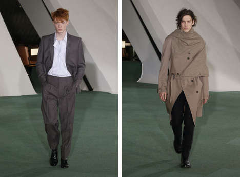 Refined Edgy Apparel - This Maison Martin Margiela Fall Collection is Vanguard and Wearable