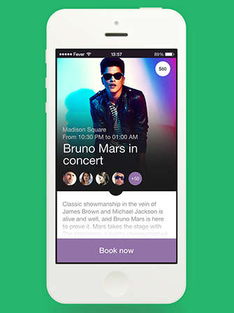 City Life-Curating Apps - The Fever Lifestyle App Streamlines Events to Your Interests