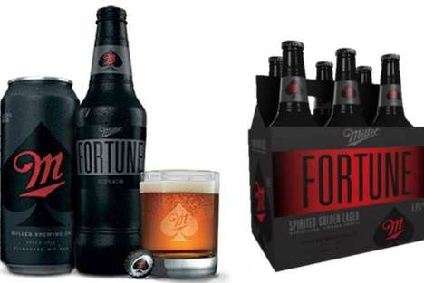 Bourbon-Flavored Beer - Miller Fortune is Meant to Compete with Liquor Brands