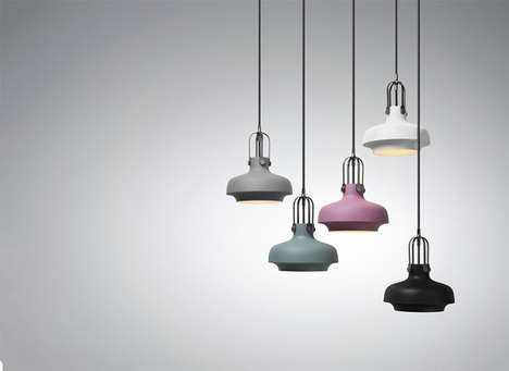 Contemporary Low Hanging Fixtures - The Copenhagen Pendant Light is Modern and Stylish