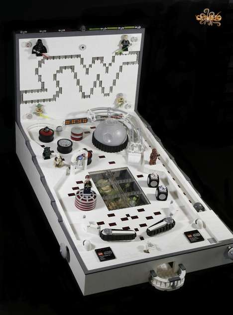 Blocky Space Opera Arcades - This Star Wars LEGO Pinball Machine Actually Works