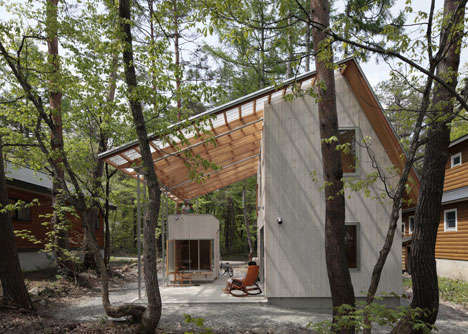 Adaptable Polycarbonate Roofs - Villa in Hakuba