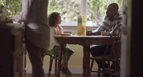 Interracial Family-Forming Ads - The First Cheerios Super Bowl Ad Brings Back the Interracial Family