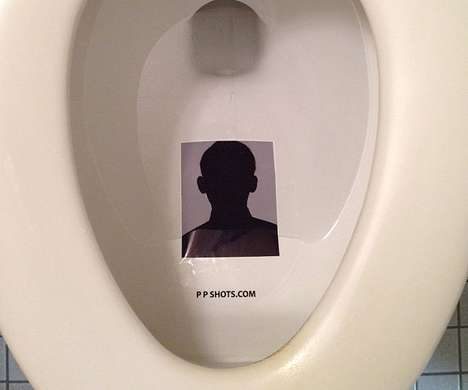 Toilet Target Adhesives - These Stickers Perfect Your Aim and Avoid the Mess