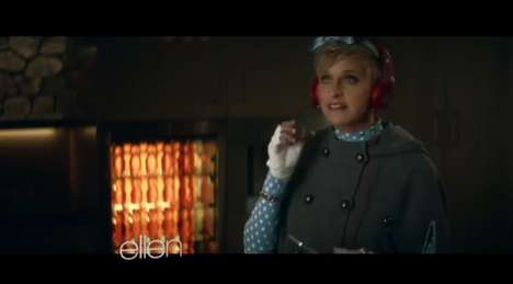 Celebrity-Endorsed Dancing Ads - This Ellen Degeneres Super Bowl Ad Shows Off Her Quirky Dance Moves