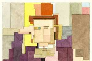 Adam Lister Paints His Subjects with Watercolor in the 8-Bit Style