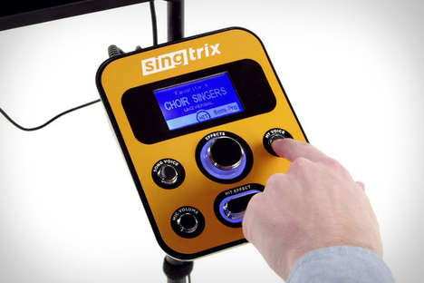 Song-Altering Karaoke Kits - The Singtrix Lets You Turn Any Song into a Karaoke Masterpiece