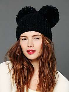 Mousey Disney-Inspired Beenies - The Eugenia Kim Mimi Pom Pom Skull Hat is Mickey Mouse Fab