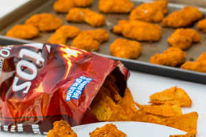 These Doritos Chicken Strips Will be a Fan Favorite for Party Snacks