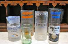 Crafty Alcohol Bottle Glasses