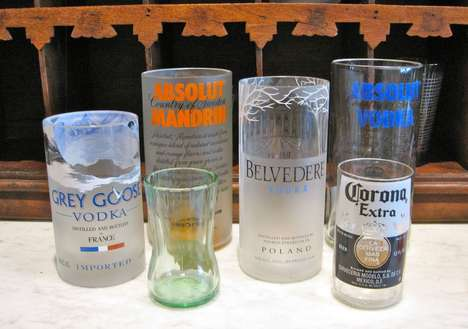 Crafty Alcohol Bottle Glasses - It's Easy to Make DIY Beer Bottle Cups for Drinking Enthusiast