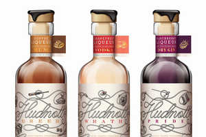 This Creative Packaging for a New Kate Hudnott Spirit is Eclectic