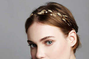 These Bohemian Hair Accessories by Jennifer Behr are Dazzling