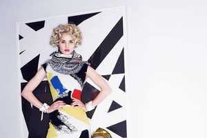 Designer Karl Lagerfeld Shoots the Harper's Bazaar Spring 2014 Editorial
