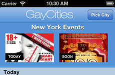 LGBT Event Exploration Apps - The GayCities App Makes Exploring New Cities Much More Interactive