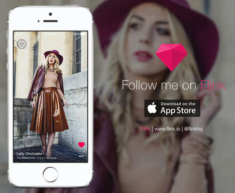 Fashion Blogging Mobile Apps - The Flink App is the Best New Way to Blog Surf Top Style Sites