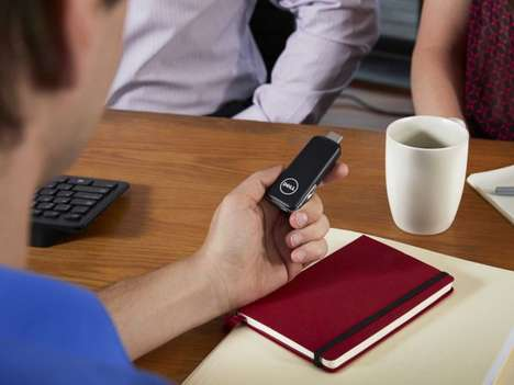Desktop Virtualization Devices - Dell's New Android Dongle Allows Users Palm-Held PC Access