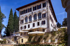 Restored Renaissance Accommodations - The Luxurious Florence Hotel was Built as a Villa in the 1400s