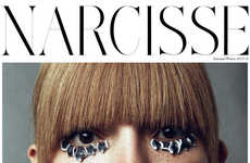 Eccentric Eye Captures - This Beauty Series for Narcisse Magazine Features Model Carola Remer