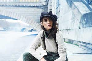 Lachlan Bailey Captured Kati Nescher for Vogue Paris February 2014