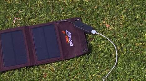 Uninterrupted Solar Chargers - The StrongVolt Auto-Connects When Sunlight is Available