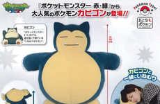 Lazy Anime Couch Cushions - The Snorlax Pillow Lets You Sleep the Day Away Like the Iconic Pokemon