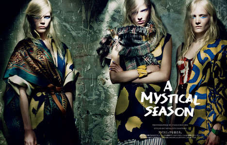 Dark Esoteric Editorials - The Vogue Japan