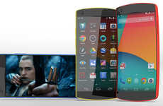 Ahead-of-the-Curve Handsets - This Nexus 6 Smartphone Concept Has an Enhanced Form and Function